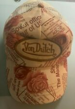 VON DUTCH Casquette Trucker Avec Filet