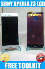 WHITE Sony Xperia Z3 D6643 D6603 Assembly LCD Digitizer Touch Screen Replacement