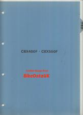 Original Honda CBX550F (1982 >) distribuidores PDI configuración manual PC04 Cbx 400 550 F AH27