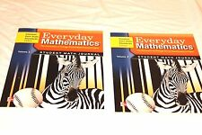 Everyday Mathematics Grade 3 Student Math Journal Book Set Common Core CCSS New