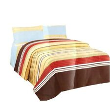 Living with Linen 4-piece Comforter(Multicolor)