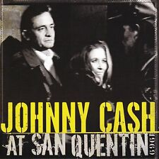 JOHNNY CASH AT SAN QUENTIN 1969 CD & DVD Remastered Album 2007 NEW