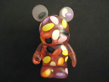 """DISNEY 3"""" VINYLMATION HOLIDAY #3 SERIES JELLY BEAN RED VARIANT FIGURE"""