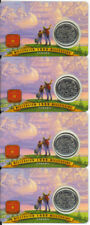 1999 CANADA Millennium Series 25 CENTS  JULY  Nation of People 4 Cards