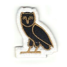 Owl Iron On Embroidered Patch Logo