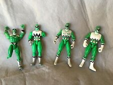 Power Rangers Lot Green Ranger Various Years