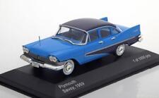 PLYMOUTH SAVOY 1959 DARK BLUE WHITEBOX WB222 1/43 BLEU FONCE US CAR LHD BLAU