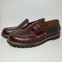Columbia Summer Lake Contour Comfort Brown Leather Casual Shoes Size Men's 8