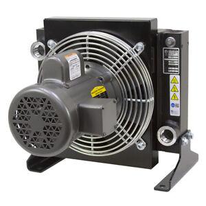 50 GPM AKG AR10-1 Oil Cooler w/ 115/230 Volt AC Fan 9-12676-10-1