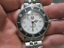 Tag Heuer Professional Stainless Steel 200 METERS WITH DATE Running Watch