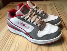 Reebok G unit G6 shoes rare red/white/red stripe sz 8 FRESH-- 50 Cent