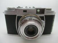 Vintage Kowa E Kallo 35 Film Camera with Seikosha-MX Lens f/2.8 48mm