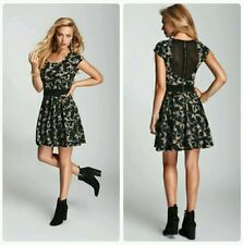 🌺 GUESS Vintage-Style Ditsy-Print Jersey Dress 🌺