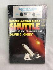 Robert Lansing Reads Shuttle By David C Onley Audio Cassette New & Sealed 1986