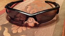Oakley half jacket 2.0 black frames and black polarized lenses