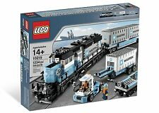 Brand New LEGO 10219 Creator Maersk cargo Train MISB