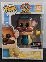 Monterey Jack Funko Pop Vinyl New in Mint Box + GameStop sticker + Protector