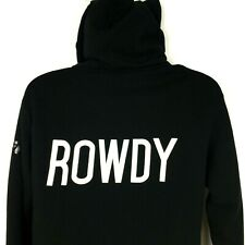 Rhonda Rousey UFC Rowdy Hoodie Unisex Medium Black Full Zip Independent Trading