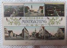 AK  Mintraching Mehrbildkarte colorierte Litho gl. 1909