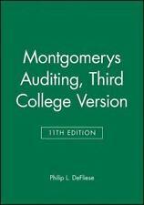 Montgomery's Auditing