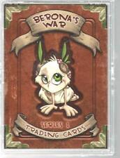 Berona's War Trading Card Set Series 1 Jesse Lebbe  Anthony Coffey New 2011 B
