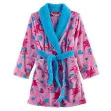 DreamWorks Trolls Poppy Girls Pattern Plush Robe Size 8 NWT Retail $40