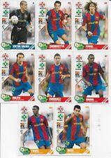 COMPLETE SET BARCELONA 14 CARDS PANINI PLAY LIGA 2007 2008: MESSI, INIESTA, XAVI