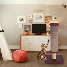 Cat Scratching Post Tall Activity Tree Cat Scratcher with Funny Toy Wine New