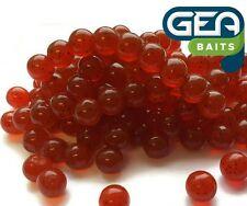 SOFT LURE 50 X Red Salmon Eggs Carp Fishing TROUT fly fishing 8 mm Bait