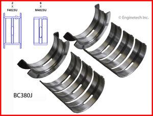 Enginetech Crankshaft Main Bearing Set BC380JSTD