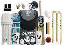 Sg Full Cricket Kit with Duffle Bag and Spofly Stumps (Full Size for Man(Adult)