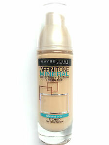 Maybelline Affinitone Mineral Foundation SPF 18 Liquid Makeup 20 Cameo (3 PACK)