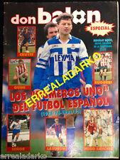 DON BALON ESPECIAL LOS NUMEROS UNO DEL FUTBOL ESPAÑOL (1975/76-1992/93)