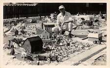 Midget City Between Sanford & Orlando, Fl, 8 Real Photo Overview Pc's, c. 1940's