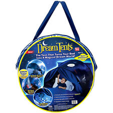 Dream Tents Pop Up Tent Space Adventure Twin Size Bed Kids Toys - As Seen On Tv