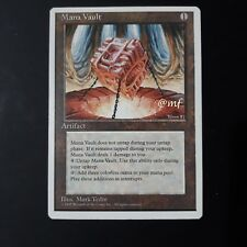 FORZIERE DEL MANA - MANA VAULT ENG - MTG MAGIC [MF]