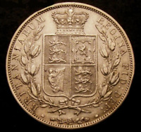1883 GVF Sterling Silver Queen Victoria Half Crown. ☆☆☆ Price reduced ☆☆☆