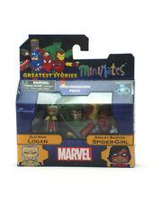 Marvel Minimates Old Man Logan & Ashley Barton Spider-Girl Greatest Stories 74