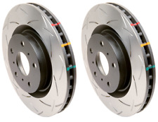 DBA Front 4000 Slotted Brake Rotors (Pair) For Nissan R33 GTST