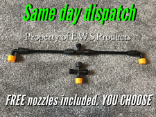 Spray Boom 2/3 nozzles Includes FREE EXTRA NOZZLES For Knapsack Sprayers.