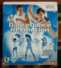 Dance Dance Revolution With Pad/Original Box/ 2 Complete Games
