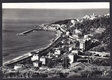 IMPERIA BORDIGHERA 92 CAPO AMPELIO - FERROVIA Cartolina FOTOGRAFICA viagg. 1961