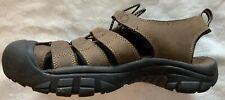 KEEN Men's Newport Leather Sandals Bison Brown US 9 EUR 42 UK 8 CM 27 NEW