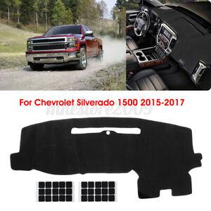 For Chevrolet Silverado 1500 2500 3500 2015-17 Dashmat Dash Mat Dashboard Cover