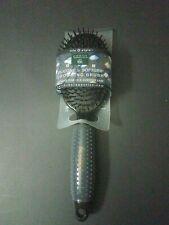 Earth Therapeutics Silicon Hair Brush, Black Free shipping!