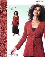 Berroco Knitting Pattern Booklet #255 Bonsai - 7 Designs for Women (3 are Easy!)