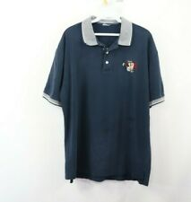 Vintage 90s Mens Medium Tazmanian Devil Taz Looney Tunes Golfing Golf Polo Shirt
