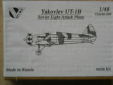 Vector 1/48 #48009- YAKONLEV UT-1B SOVIET LIGHT ATTACK PLANE