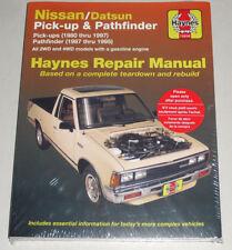 Reparaturanleitung Nissan / Datsun Pathfinder + PickUp D21 W21 WD21, 1980-1997