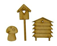 Fairy Door Accessories Fairy Garden Birdhouse Beehive Fairy Garden Accessories